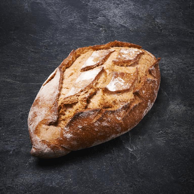 לחם כפרי צרפתי אובלי